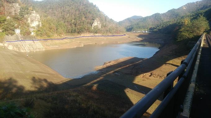 20151014の蛭沢湖