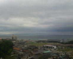 宿泊した旅館からの眺めがとてもよかった