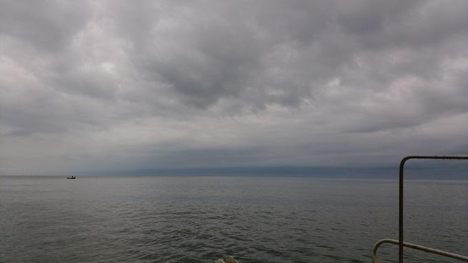 嵐の前の静けさ