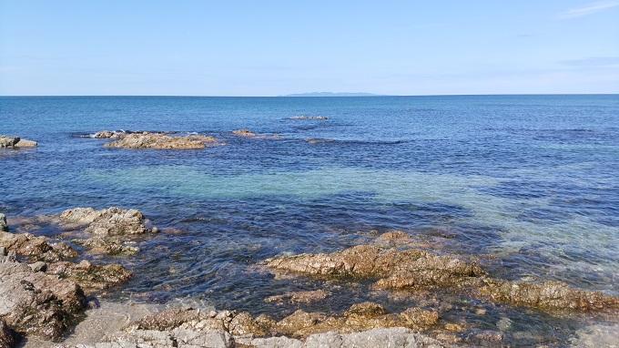 めっちゃきれいな海