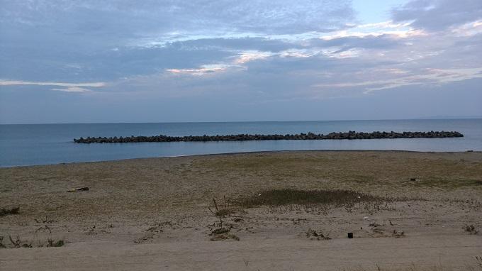 海はめっちゃ穏やかだけど釣れなかった