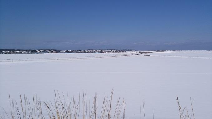 3月前だと新潟も雪がある