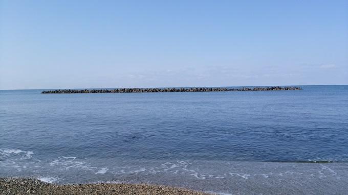 海は穏やか!