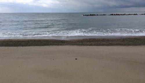 うねりが強い海