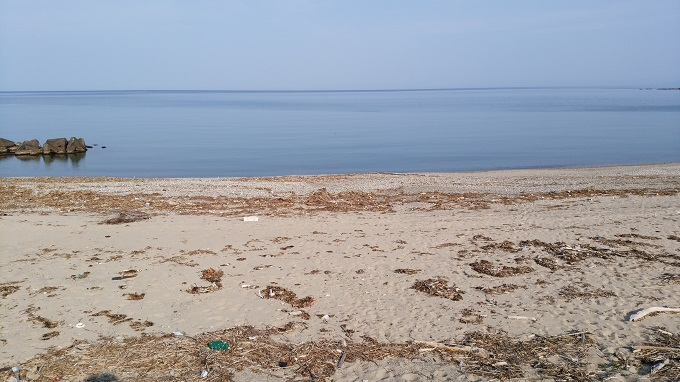 20190517の砂浜